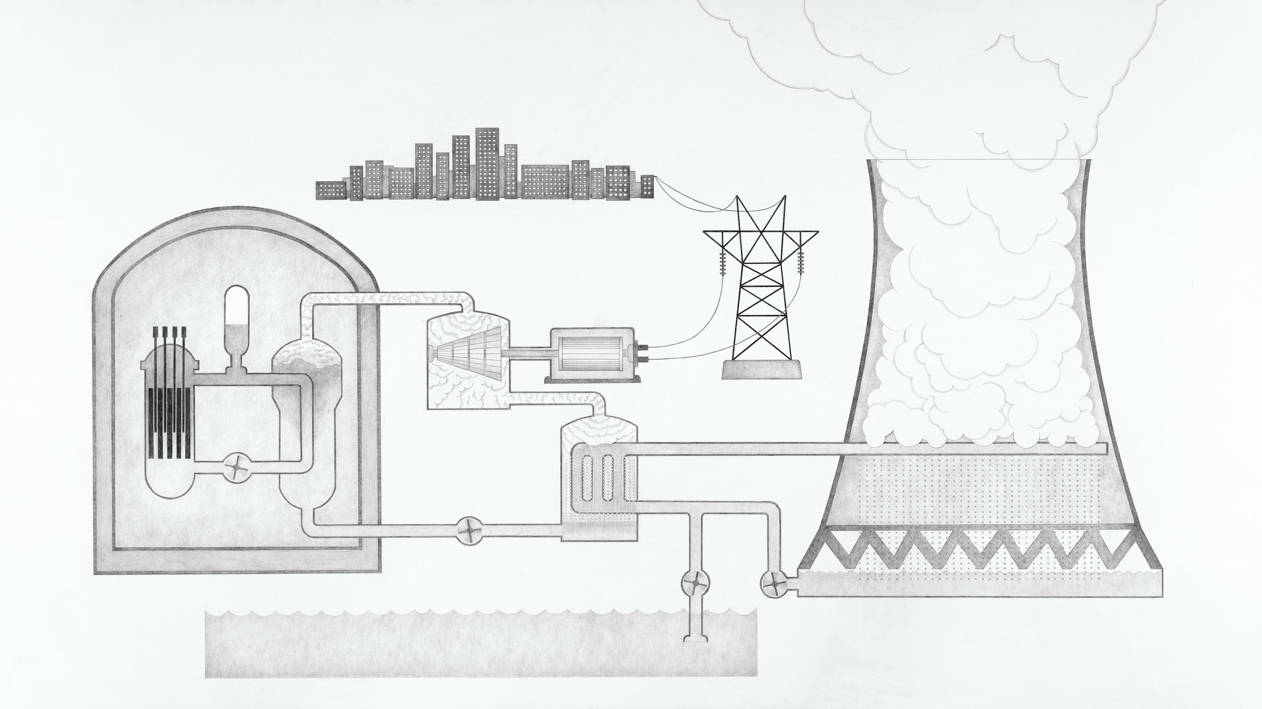 La poursuite du nucléaire